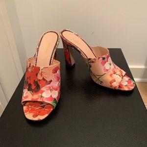 Gucci Floral Mules